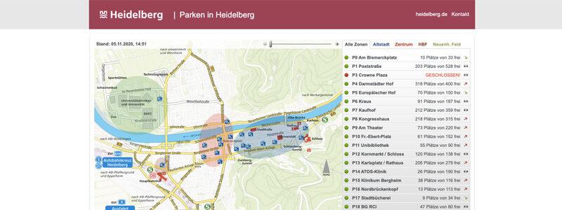 Parken Heidelberg