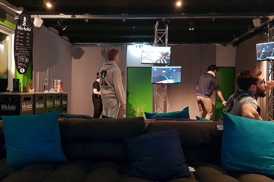 Dots United Weihnachtsfeier Virtual Reality Mannheim