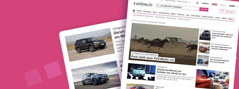 T-Online Autotestberichte