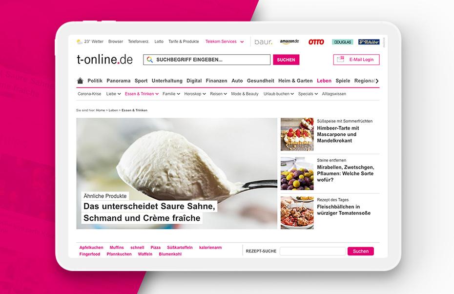 T-Online Rezeptdatenbank